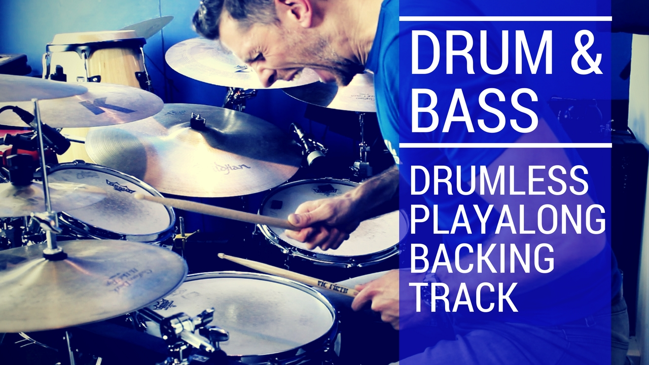Drum and Bass Drumless Playalong | Total Drummer - Online Drum Lessons