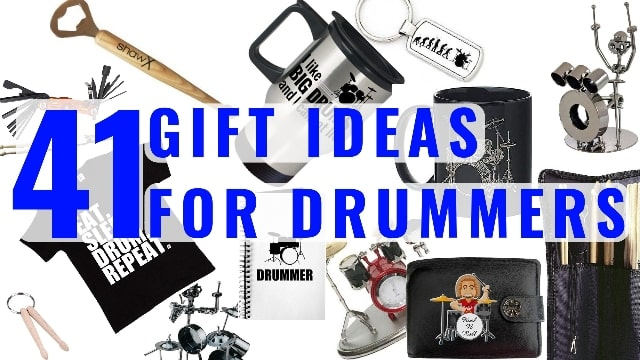 41 Gift Ideas for Drummers   Total