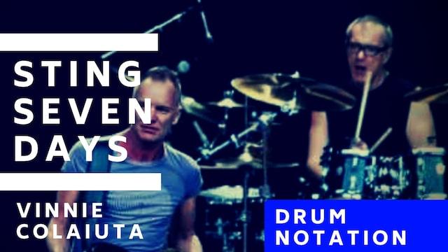 seven days drum notation total drummer online drum lessons. Black Bedroom Furniture Sets. Home Design Ideas