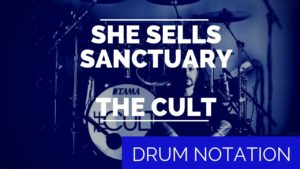 The Cult Drum Notation   Total Drummer - Online Drum Lessons